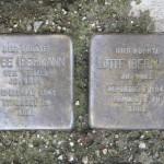 Stolpersteine Berlin 145: In memory of Taube Ibermann and Lotte Ibermann (Fehrbelliner Strasse 86)