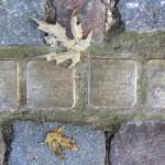 Stolpersteine Berlin 147: In memory of Siegfried Redlich, Elfriede Redlich, Louis Hoffmann and Grete Hoffmann (Senefelderstrasse 4)