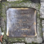 Stolpersteine Berlin 148: In memory of Nanny Stern (Eichendorffstrasse 18)