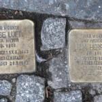 Stolpersteine Berlin 149: In memory of Else Luft and Erna Herrmann (Brunnenstrasse 41)