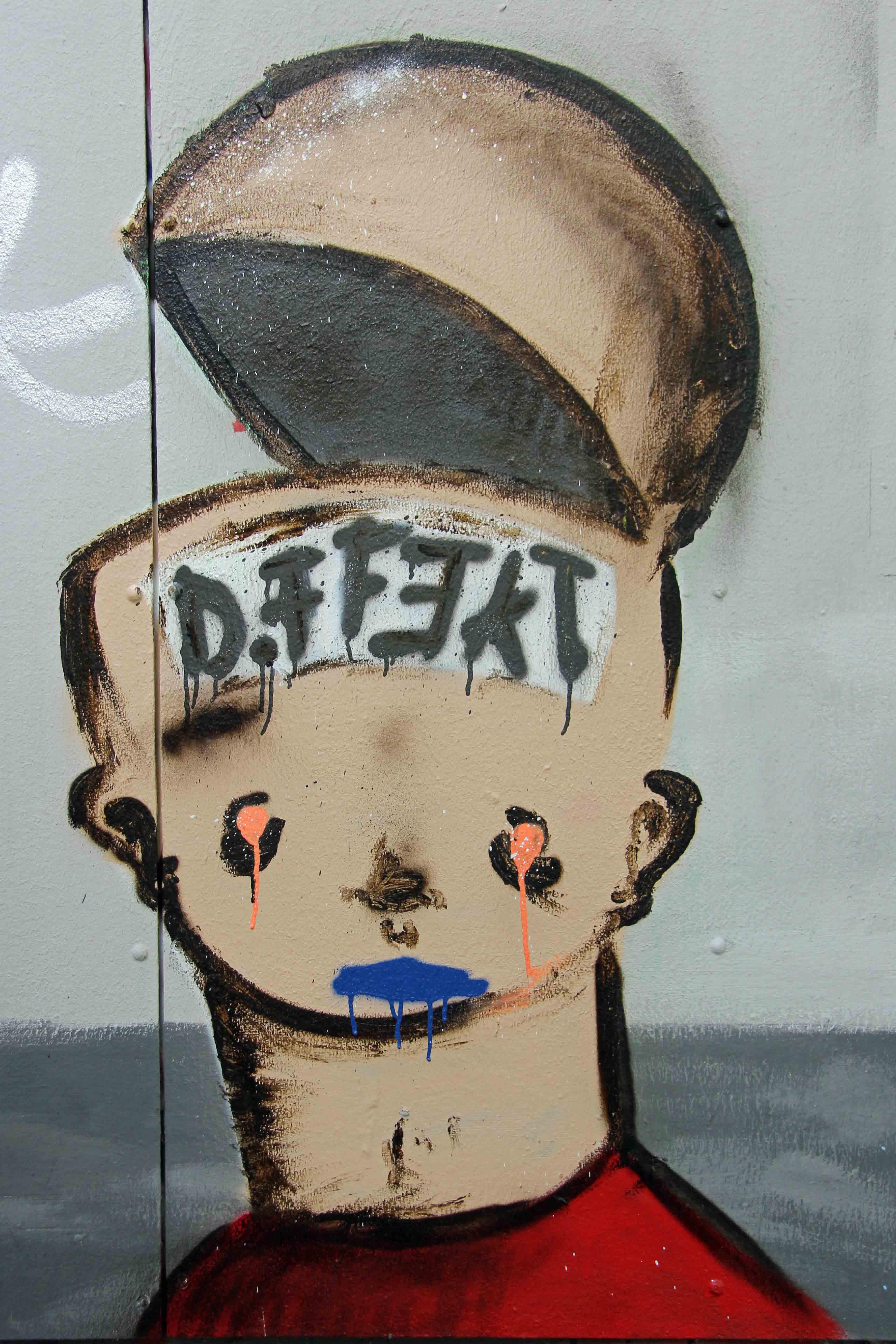 Hinged Mind - Street Art by Unknown Artist in Berlin