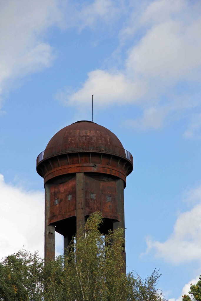 Water Tower at Natur-Park Schöneberger Südgelände in Berlin