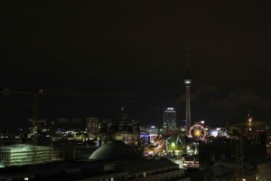 Snapshot: Berlin Skyline at Night from dem Französischen Dom