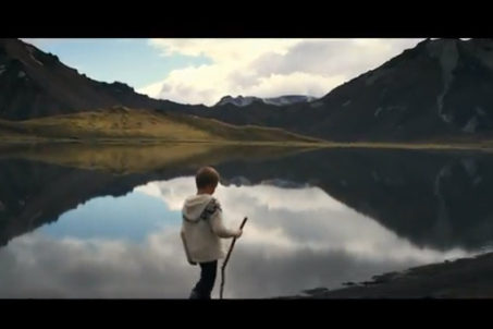 Bon Iver - Holocene (screenshot from the Official Video)