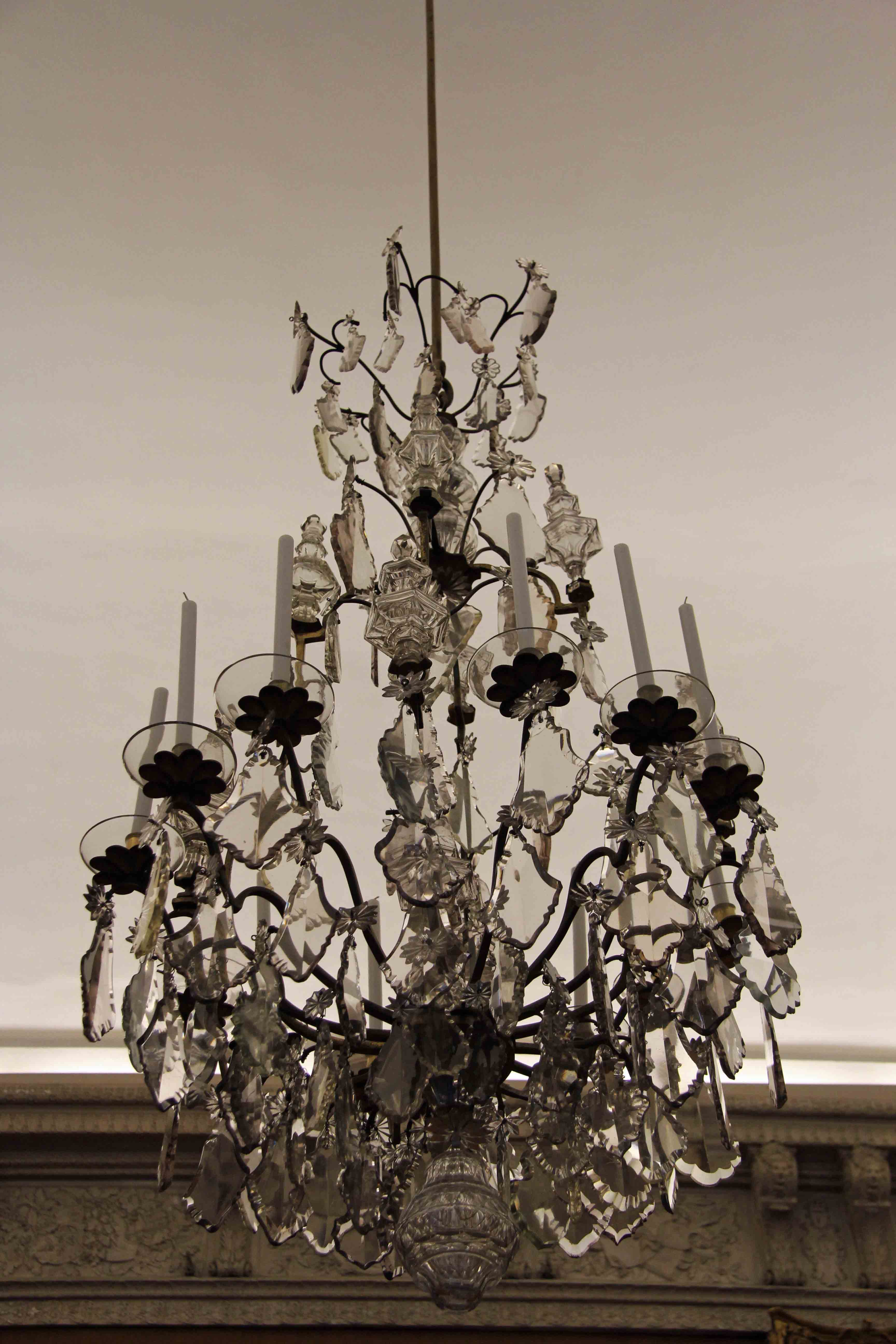 Chandelier at Schloss Charlottenburg in Berlin