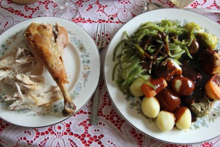 Dad's Christmas Dinner - Turkey with all the trimmings