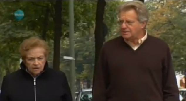 Jerry Springer - Who Do You Think You Are? (screenshot from documentary)