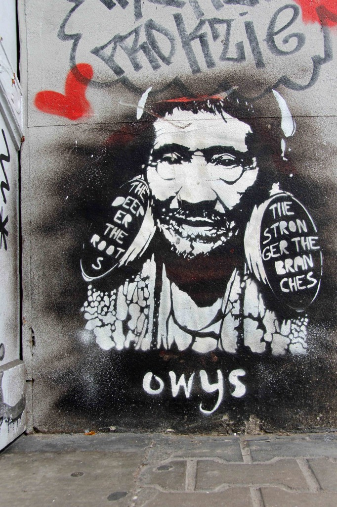 The Deeper The Roots, The Stronger The Branches - Street Art by Owys in Berlin