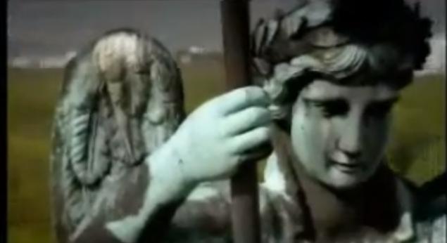 A close up of the Quadriga on the Brandenburg Gate (screenshot from BBC Documentary Berlin by Matt Frei)