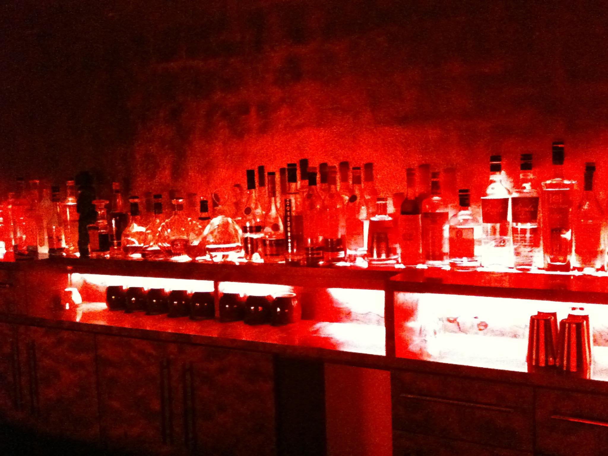 Spirit Bottles at Reingold a cocktail bar in Berlin