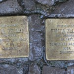 Stolpersteine Berlin 156: In memory of Paul Zeller and Frieda Zeller (Niebuhrstrasse 71)