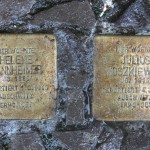Stolpersteine Berlin 156: In memory of Helene Mannheimer and Julius Moszkiewicz (Niebuhrstrasse 71)