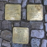Stolpersteine Berlin 157: In memory of Martin Cohn, Toni Cohn and Hilde Lotte Gerson (Niebuhrstrasse 70)