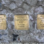 Stolpersteine Berlin 158: In memory of Julius Goldstein, Ernst Goldstein and Elly Goldstein (Niebuhrstrasse 67)