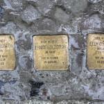 Stolpersteine Berlin 158: In memory of Julius Goldstein, Ernst Goldstein and Elly Goldstein (Niebuhrstrasse 67)