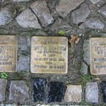 Stolpersteine Berlin 159: In memory of Salomon Grohnem, Martha Grohnem and Helene Wolff (Niebuhrstrasse 66)