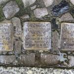 Stolpersteine Berlin 162: In memory of Max Liebenau, Dora Liebenau and Salomon Sonn (Niebuhrstrasse 62)