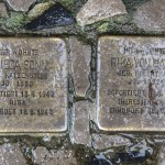 Stolpersteine Berlin 162: In memory of Frieda Sonn and Rika von Halle (Niebuhrstrasse 62)