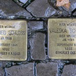 Stolpersteine Berlin 164: In memory of Siegfried Schloss and Valeska Schloss (Niebuhrstrasse 3)