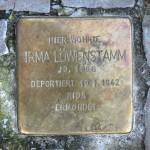 Stolpersteine Berlin 166: In memory of Irma Löwenstamm (Leonhardtstrasse 11)