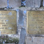 Stolpersteine Berlin 167 (2): In memory of Hermann Cohn and Hedwig Cohn (Leonhardtstrasse 10)
