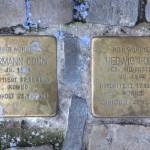 Stolpersteine Berlin 167 (2): In memory of Hermann Cohn and Hedwig Cohn (Leonhardtstrasse 10)