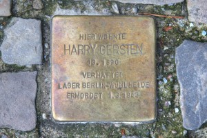 Stolpersteine in Berlin – 2012