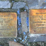 Stolpersteine Berlin 169 (2): In memory of Bertha Cohn and Gertrud Cohn (Leonhardtstrasse 5)
