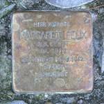 Stolpersteine Berlin 170 (1): In memory of Margarete Felix (Leonhardtstrasse 19)
