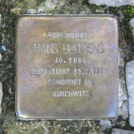 Stolpersteine Berlin 172: In memory of Hans Behrens (Leonhardtstrasse 17)