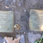 Stolpersteine Berlin 174 (6): In memory of Gertrud Broh and Frank F Neumark (Gervinusstrasse)