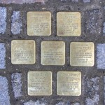 Stolpersteine Berlin 177: In memory of Israel Ziegel, Golda Ziegel, Anna Ziegel, Maria Ziegel, Bertha Ziegel, Bruno Fuchs and Rosa Fuchs (Greifenhagener Strasse 13)