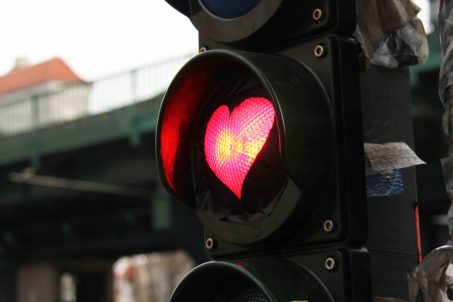 Stop In The Name Of Love - Street Art by Unknown Artist in Berlin