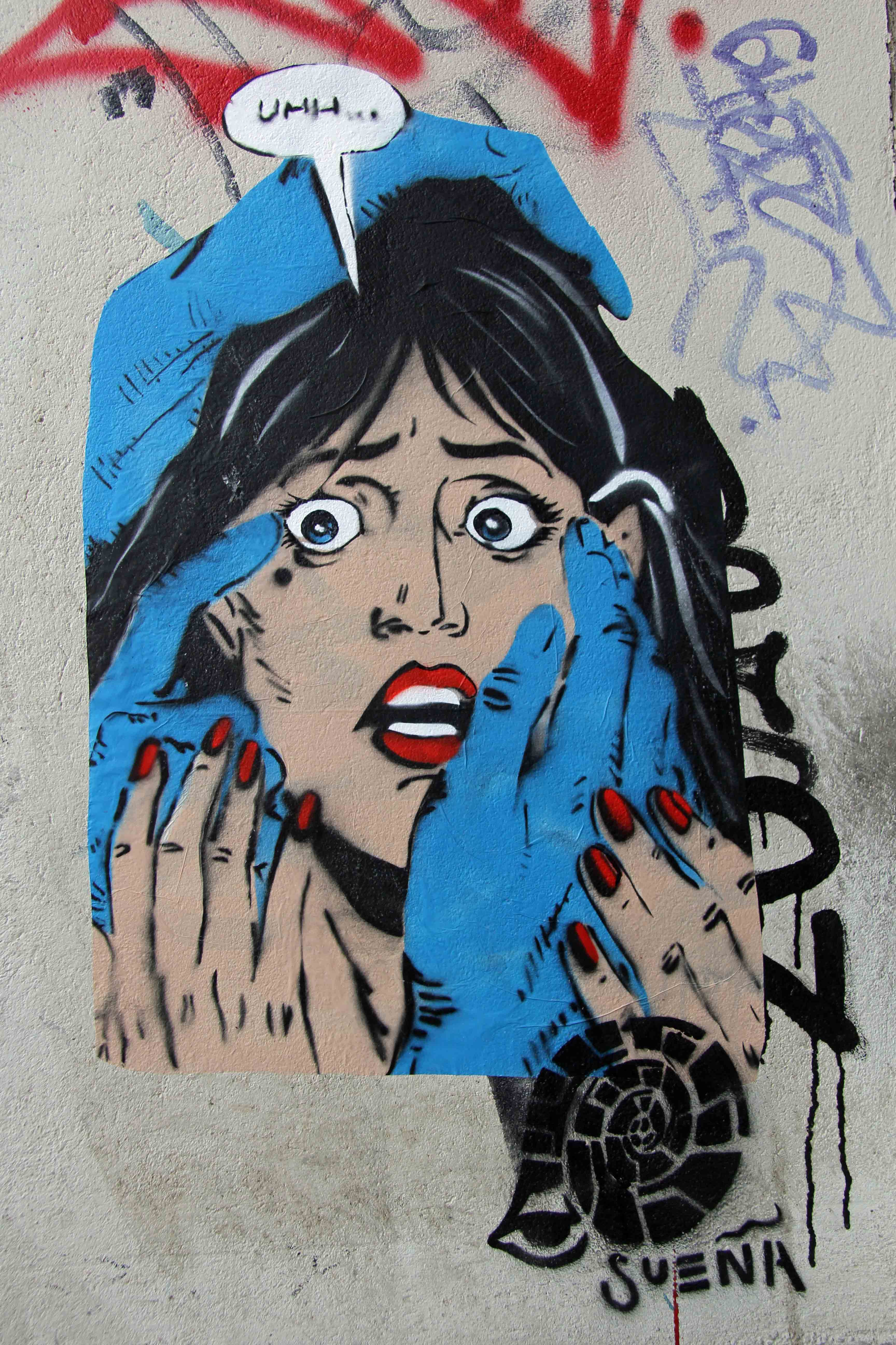 Uhh…Pop Art - Street Art by Sueña in Berlin