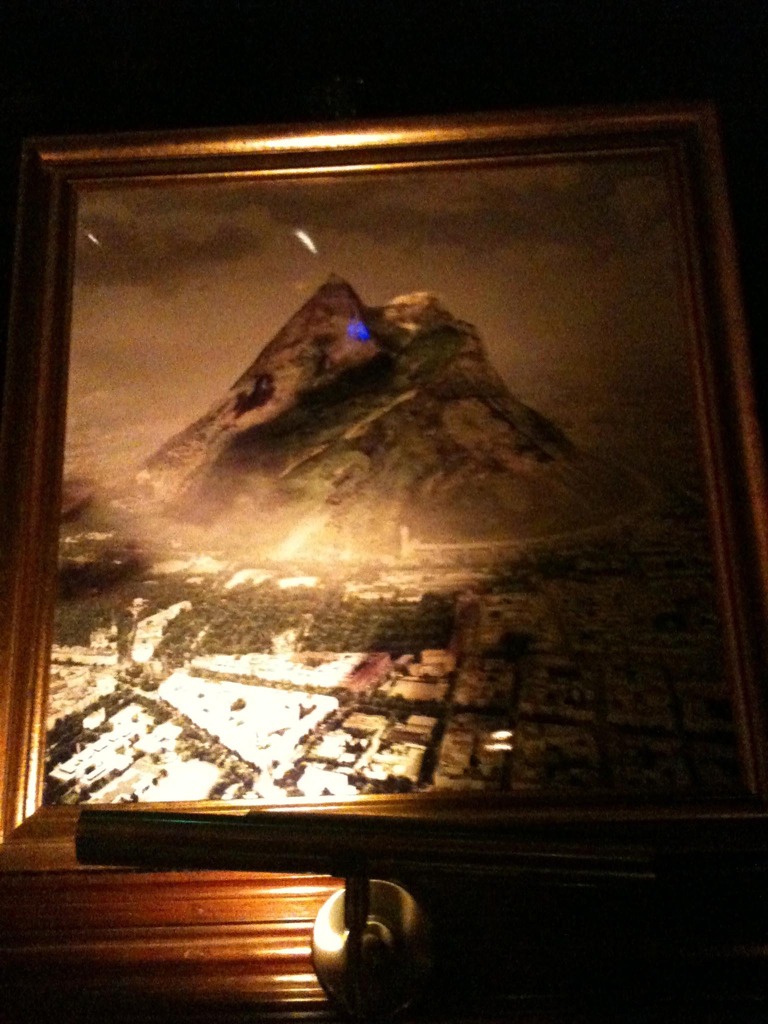 A picture of the proposed Tempelhofer Berg (Tempelhof Mountain) at White Trash Fast Food