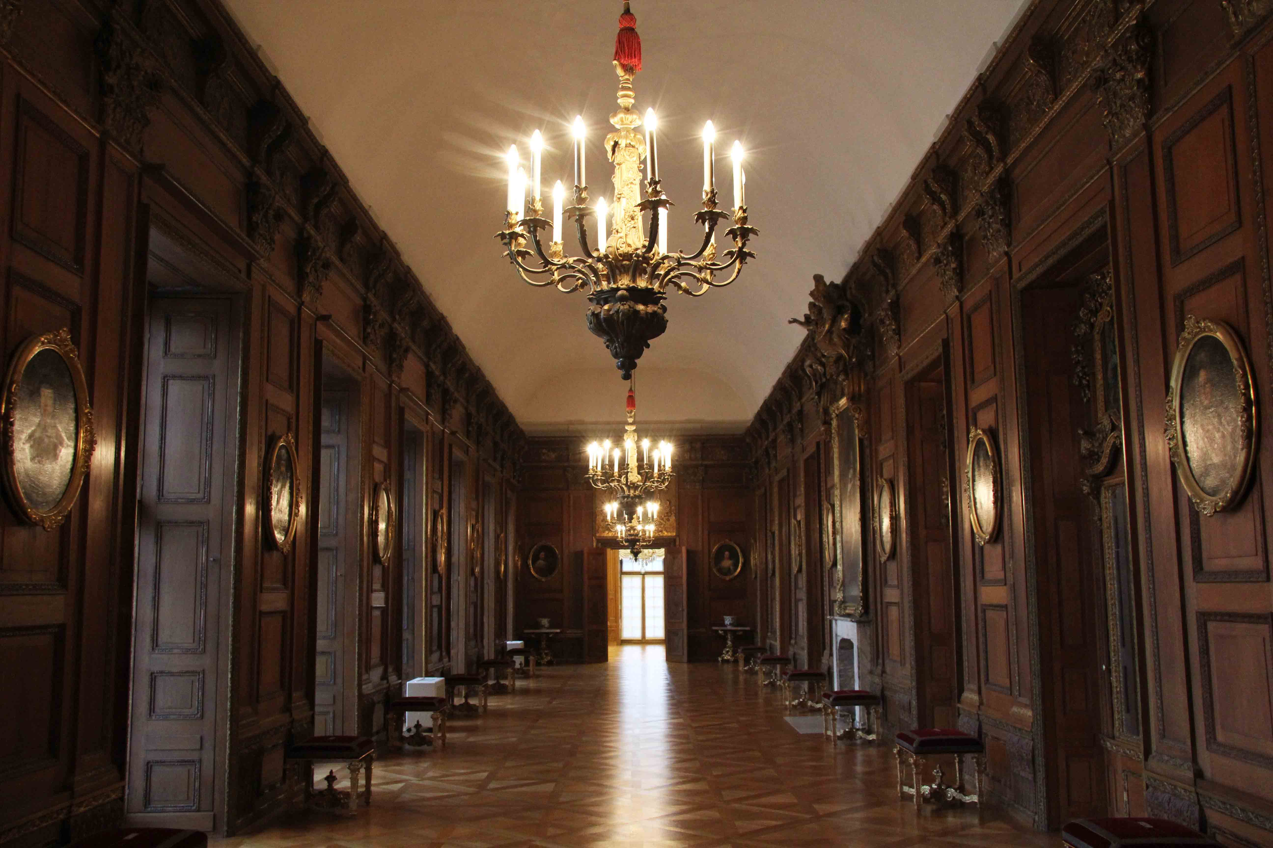 The Oak Gallery at Schloss Charlottenburg in Berlin