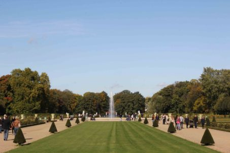 The Palace Gardens of Schloss Charlottenburg in Berlin
