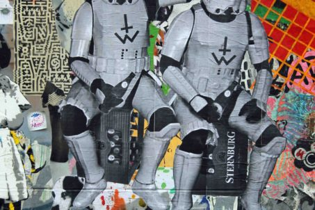 Sternburg Stormtroopers - Street Art by Unknown Artist in Berlin