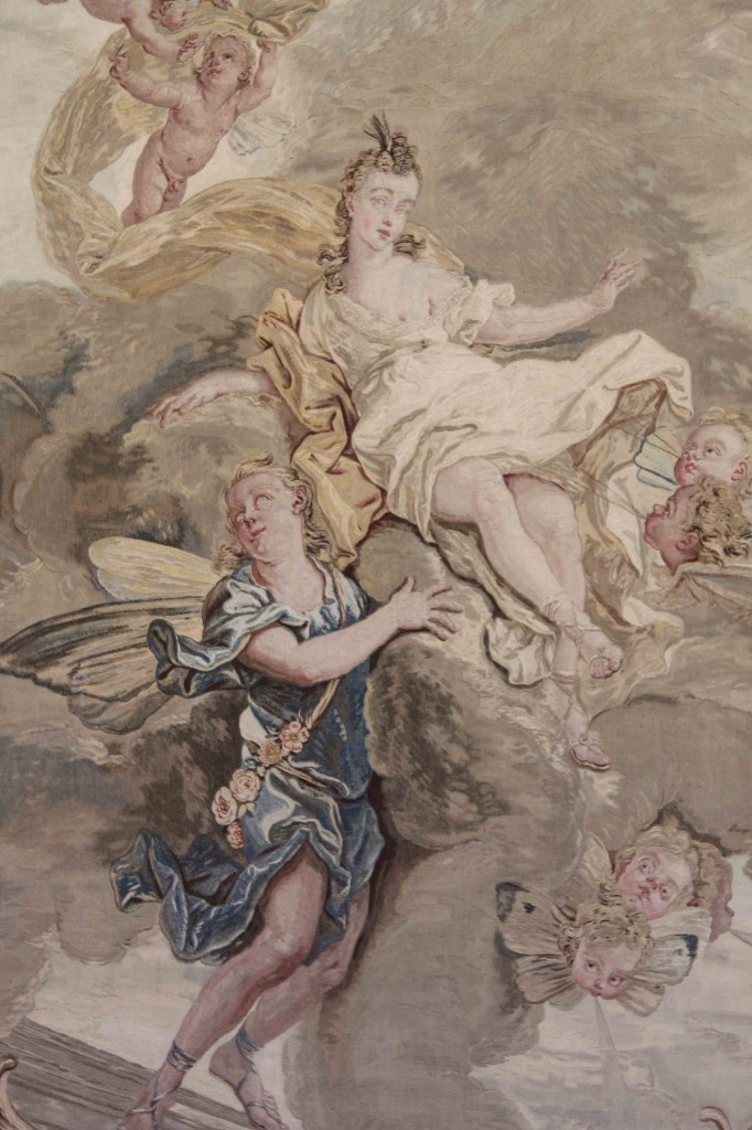 Wall Decoration at Schloss Charlottenburg in Berlin