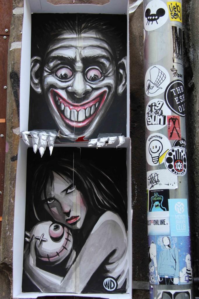 Boxed In - Street Art by WD in Berlin