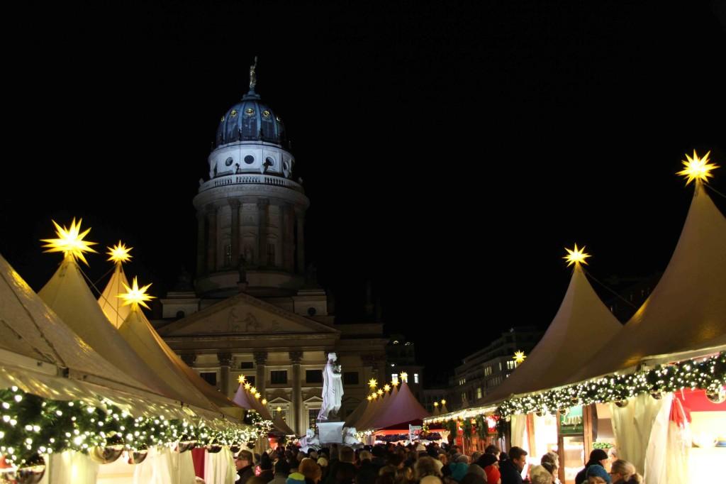 Weihnachtsmarkt Zauber Gendarmenmarkt and Französischer Dom - a Christmas Market in Berlin