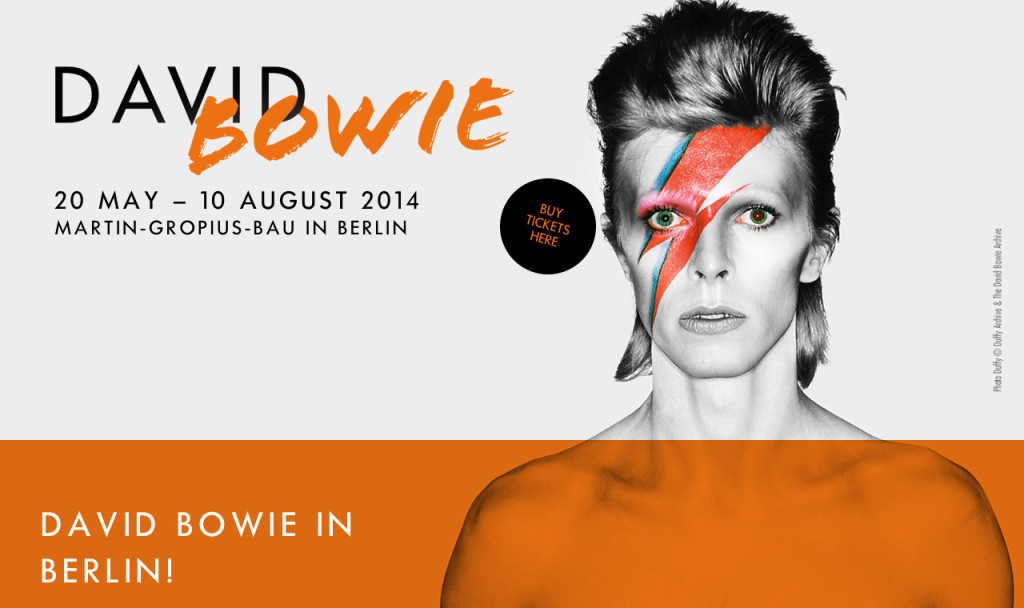 David Bowie Exhibition at Martin Gropius Bau Berlin