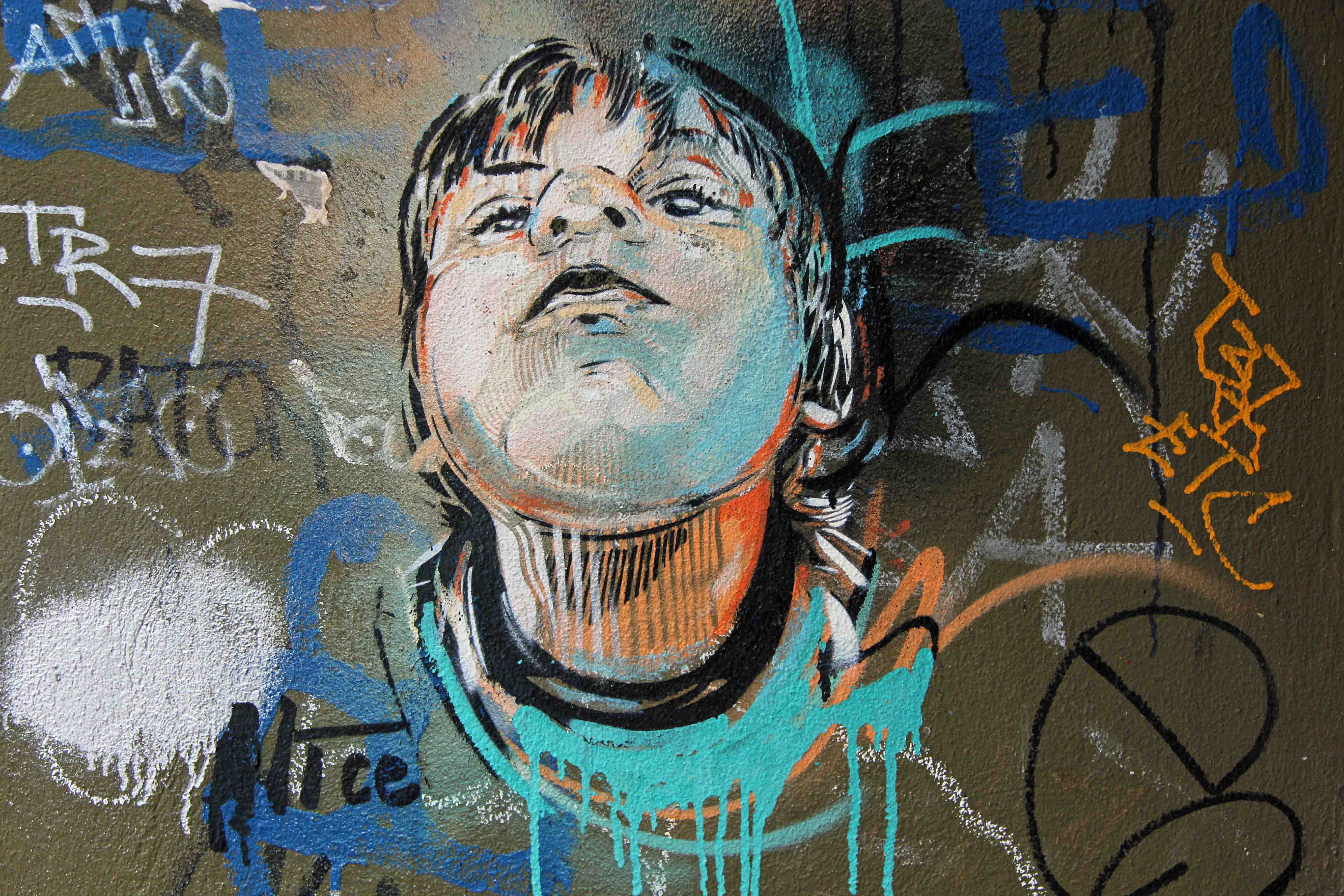 A Little Angel - Street Art by AliCé in Berlin