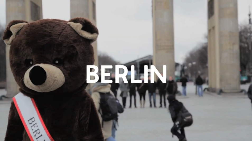 An Approximation To Berlin (screenshot from the video Travel Guide by Transistoria)