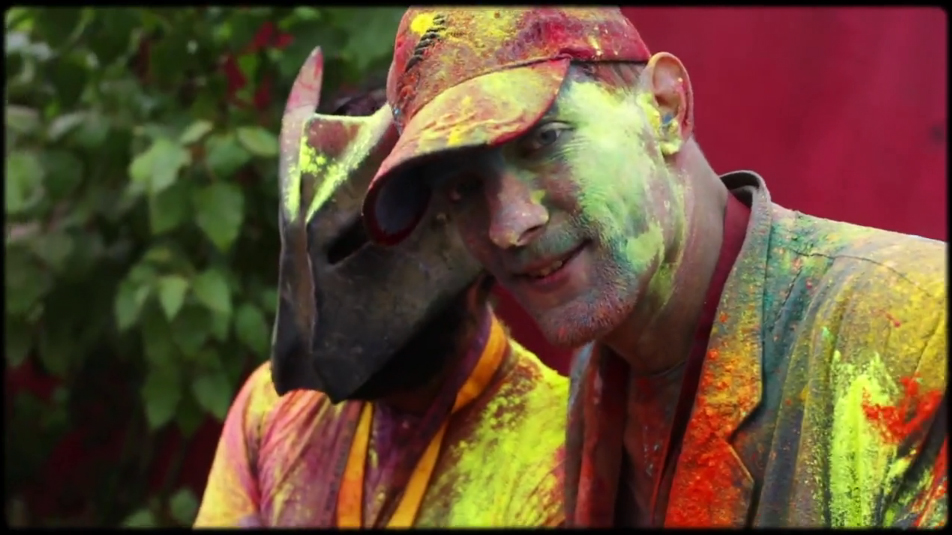 Berlin Holi Open Air Festival (screenshot from Official Video)
