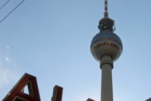 Snapshot: Fernsehturm and Alexanderplatz Station