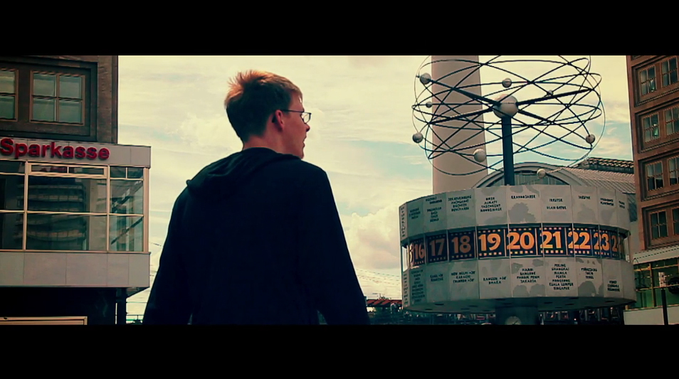 Kinetic by Klesha Production - shot in Berlin (screenshot from the video)