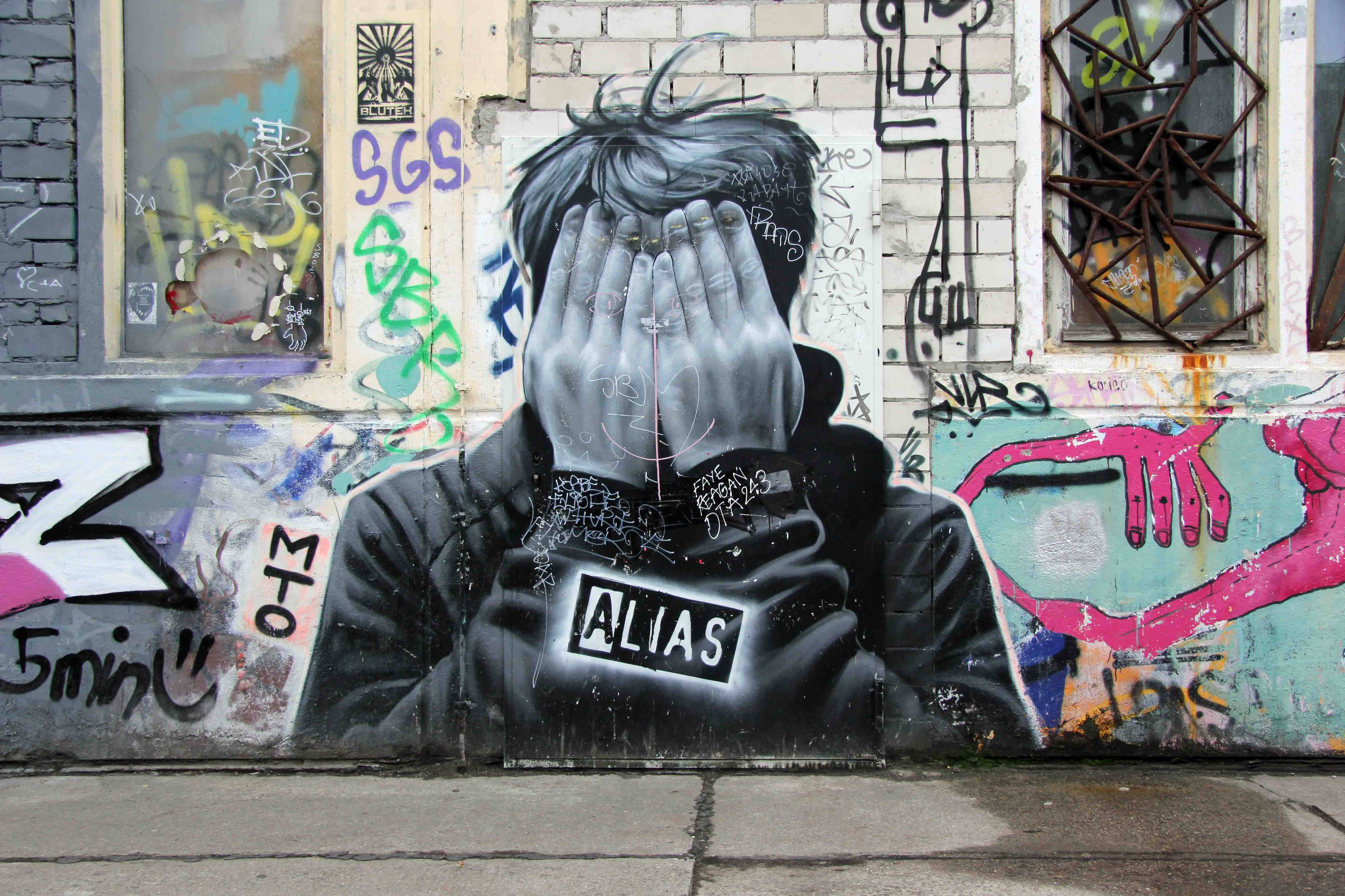 ALIAS - Street Art by MTO in Berlin