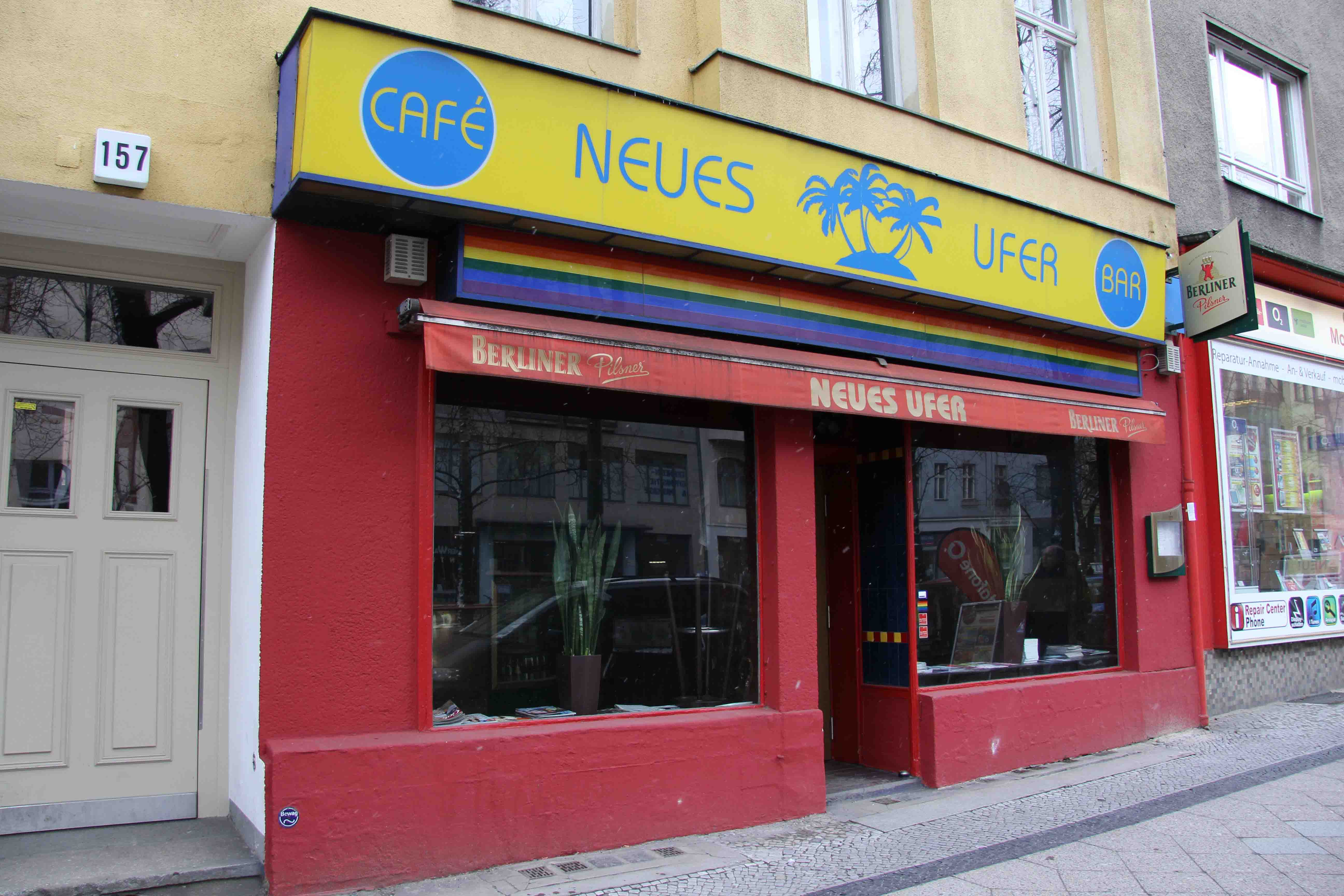 Neues Ufer (Anderes Ufer) - a Bowie haunt in Berlin
