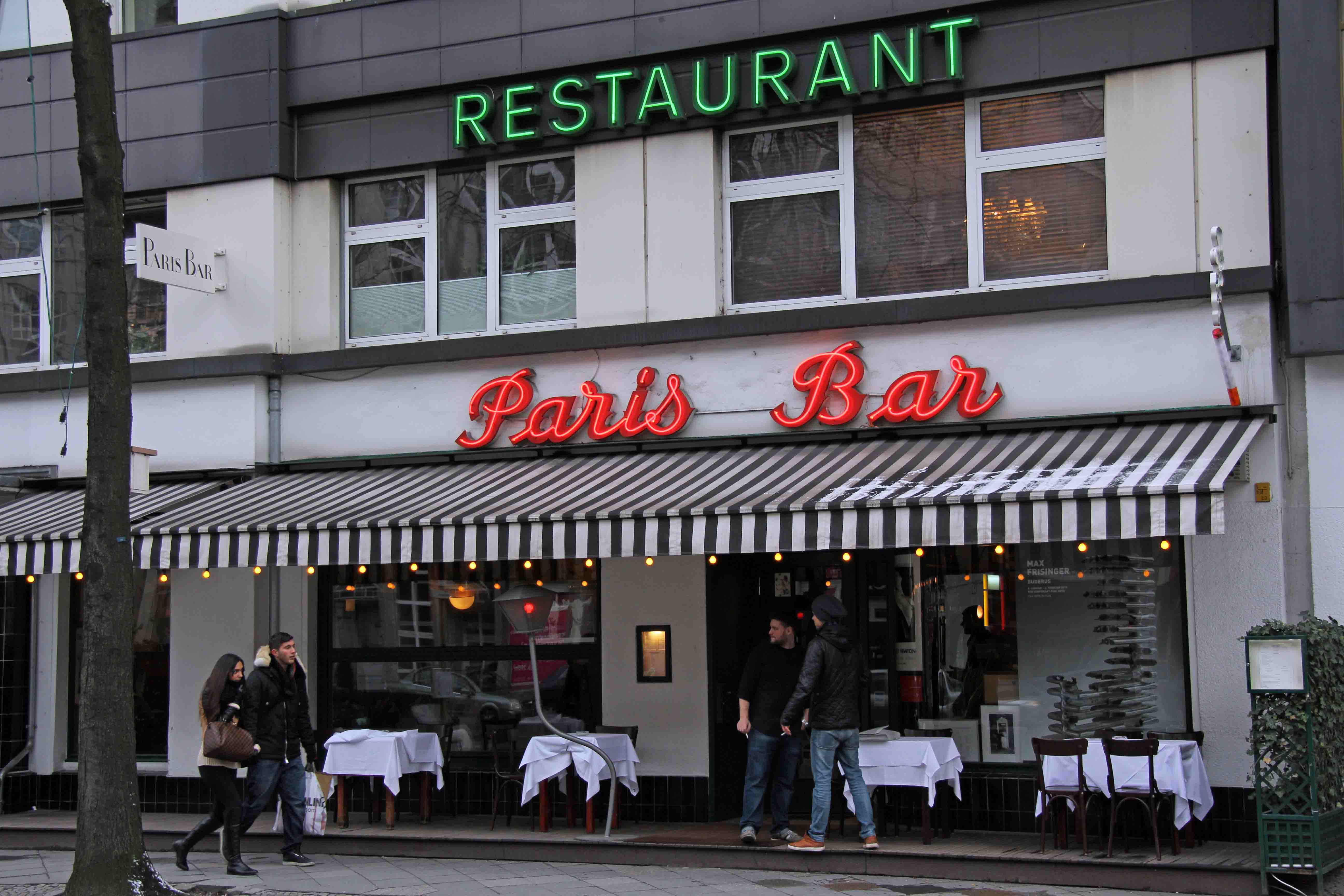 Paris Bar - a Bowie haunt in Berlin